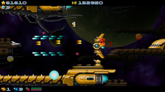 Super Hydorah: ¡Salva el universo en el shoot'em up más intenso!