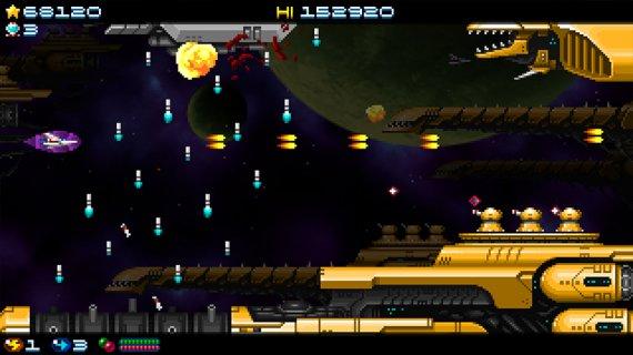 ¡Ponte a los mandos, piloto: Super Hydorah está a punto de aterrizar en Steam!