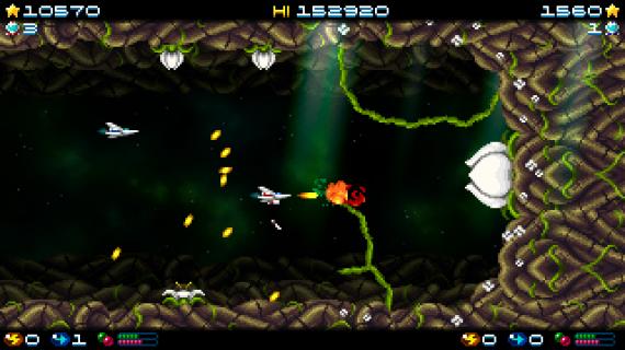 Super Hydorah: el shoot'em up más desafiante aterriza en Xbox One esta primavera