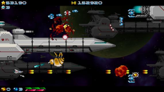 ¡El matamarcianos indie Super Hydorah llegará el 20 de septiembre para Xbox One y Steam!
