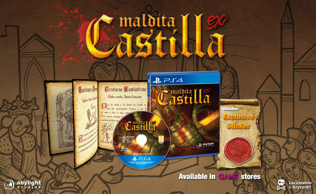 Maldita Castilla EX PS4 estará próximamente en GAME