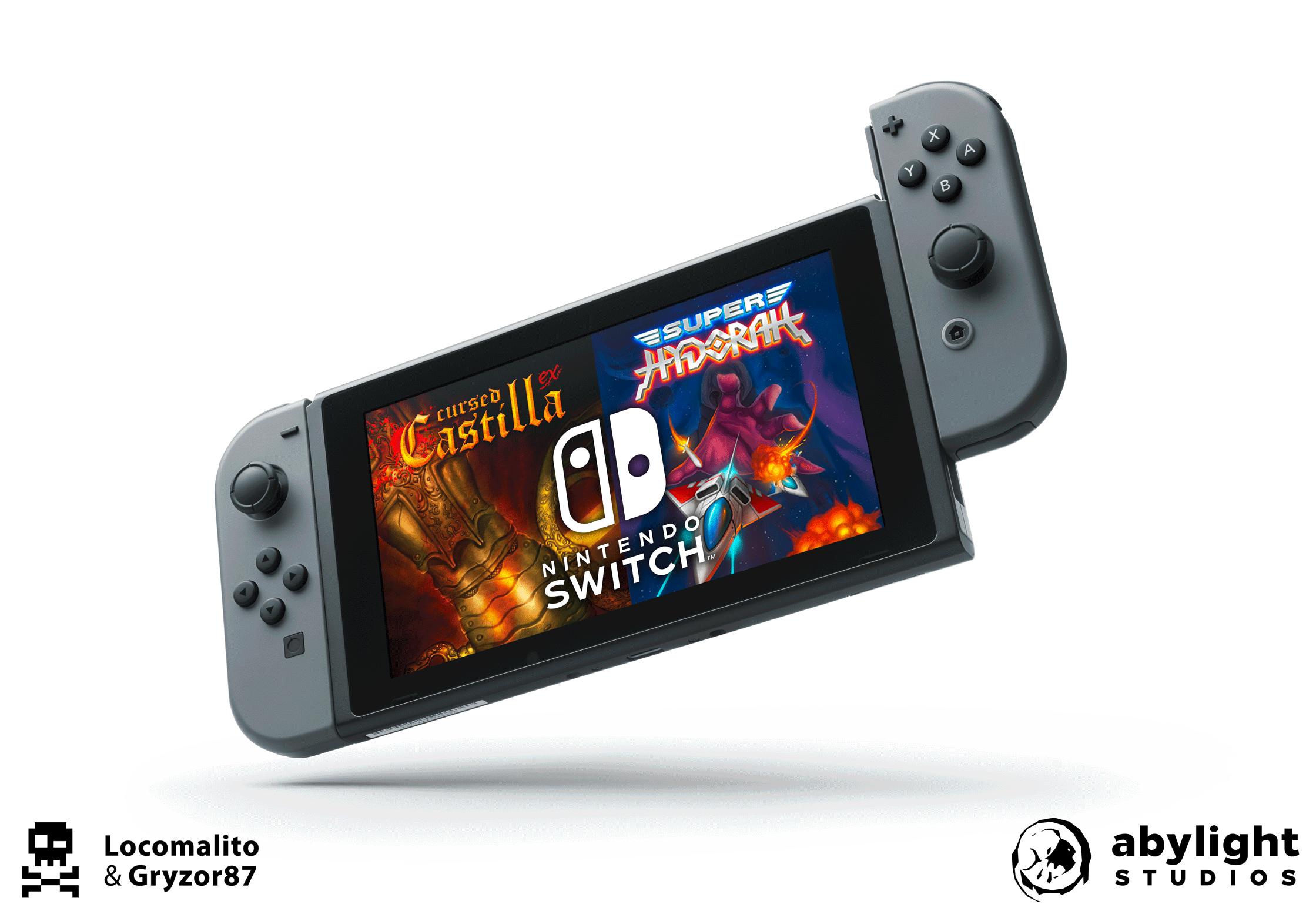 ¡Abylight Studios publicará Super Hydorah y Maldita Castilla EX en Nintendo Switch!