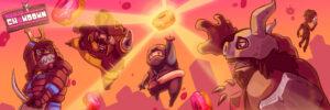 ¡Ninja Chowdown ya está disponible en iOS!