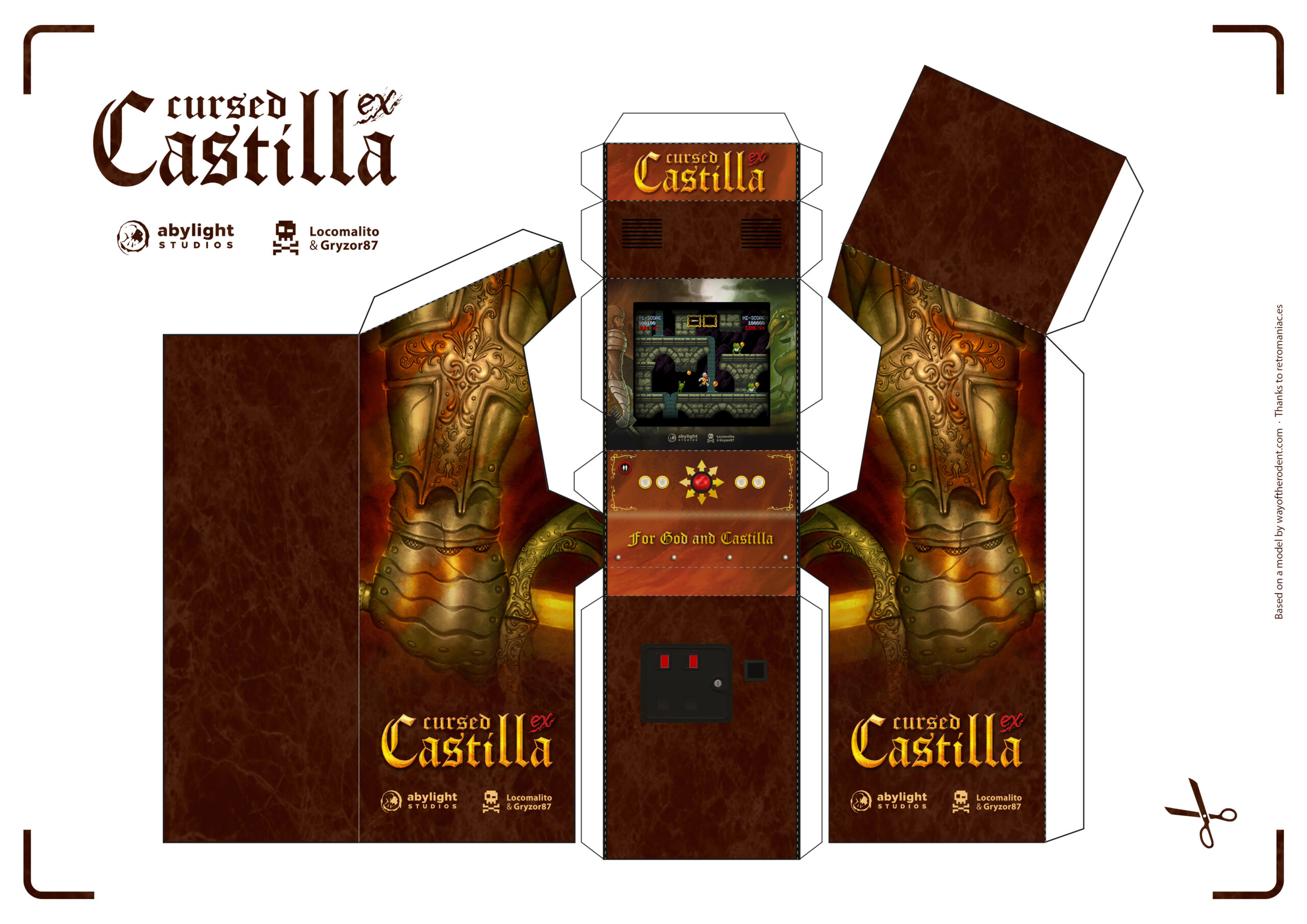 ¡Crea tu propia recreativa de Maldita Castilla!