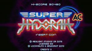 ¡Super Hydorah llega a las máquinas recreativas!