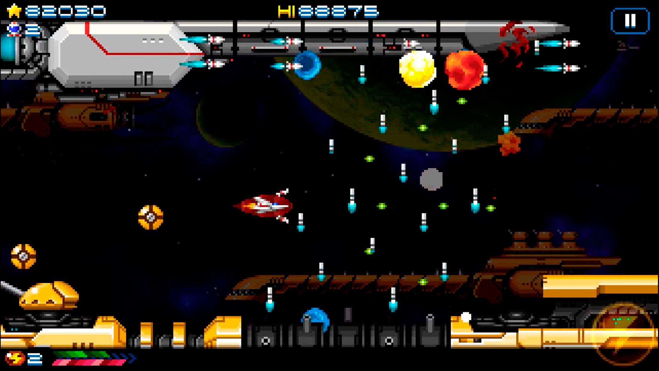 ¡La versión para iOS de Super Hydorah ya está disponible!
